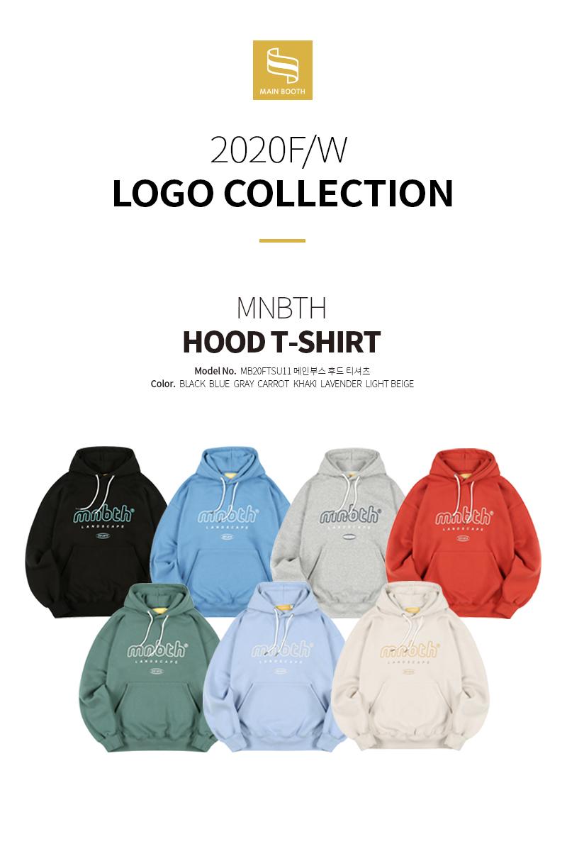 MNBTH Hood T-shirt(LIGHT BEIGE)